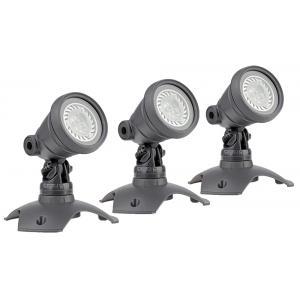 LunAqua 3 LED set 3 vijververlichting