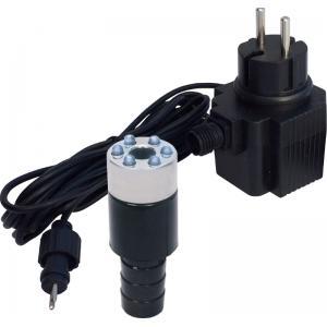 1 LED-LIGHT met vervangbare LED krans