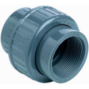 PVC 3-delige koppeling lijm x binnendraad