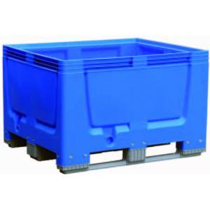 Blauwe pallet tank 600 liter