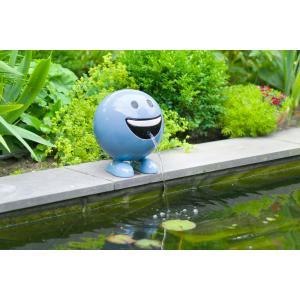 Be Happy blauw 29 cm spuitfiguur