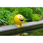 Be Happy geel 29 cm spuitfiguur