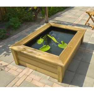 Quadro 6 houten vijverombouw Wood 2