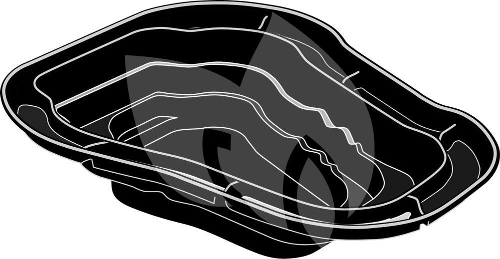 Ubbink ocean ii voorgevormde vijver for Grote vijverbakken